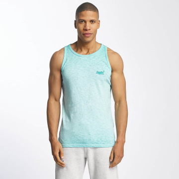 Superdry Tank Tops Low Roller turchese