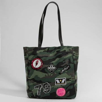Superdry Tasche Patched camouflage