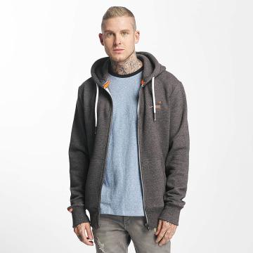 Superdry Zip Hoodie Orange Label Cali grey