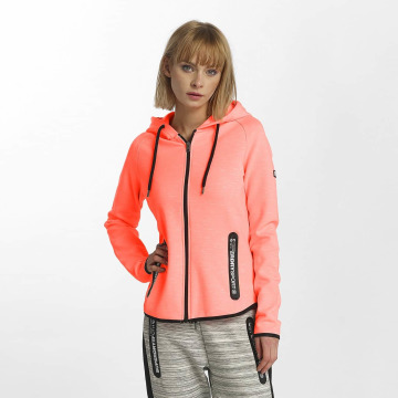 Superdry Zip Hoodie Sport Gym Technical Luxe orange