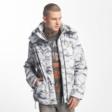 Superdry Zomerjas Technical Print Pop camouflage