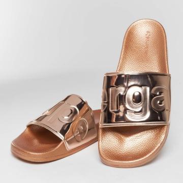 Superga Sandal Metallic rosa