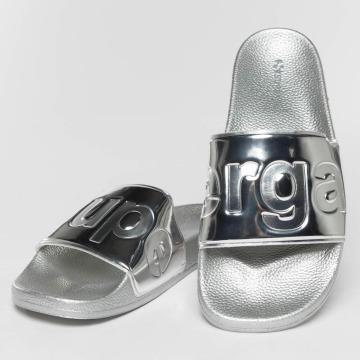 Superga Sandal Metallic sølv