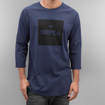Supra Longsleeve International Prem blauw