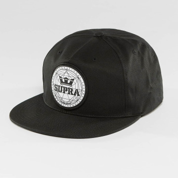 Supra Snapback Geo Patch Slider èierna