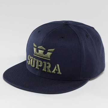 Supra Snapback Cap Above blau