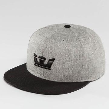 Supra Snapback Cap Icon grau