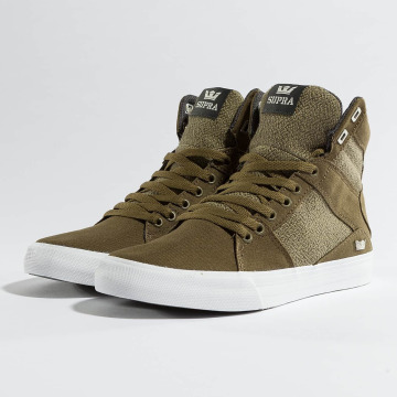 Supra Sneakers Aluminium oliven