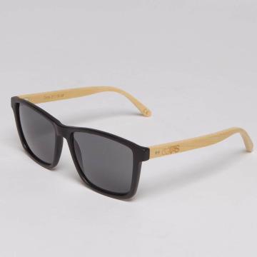 TAKE A SHOT Okulary Tomte Bambus bezowy