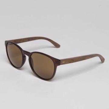 TAKE A SHOT Sunglasses The Gryphon Walnussholz brown