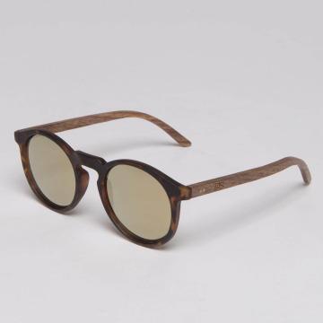 TAKE A SHOT Sunglasses Lormoral Walnussholz brown