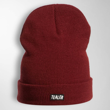 Tealer Beanie PVC Patch rosso