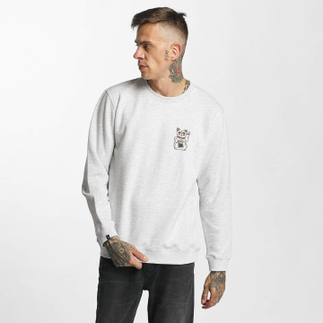 Tealer Pullover Pray For Cat grau