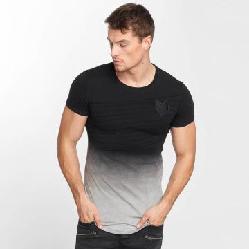 Terance Kole t-shirt two-tone zwart