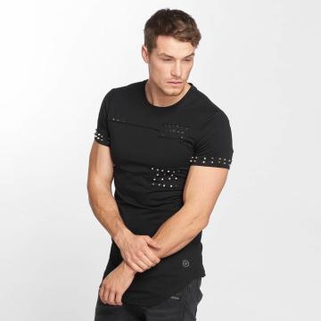 Terance Kole t-shirt Rivets zwart