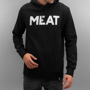 The Dudes Hoody Meat zwart