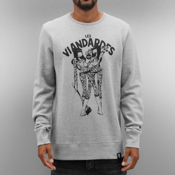 The Dudes Pullover Viandardes grau