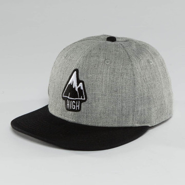 The Dudes Snapback Cap High grigio
