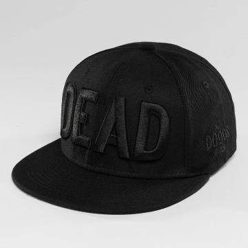 The Dudes Snapback Cap DEAD schwarz