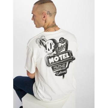 The Dudes T-shirt Motel bianco