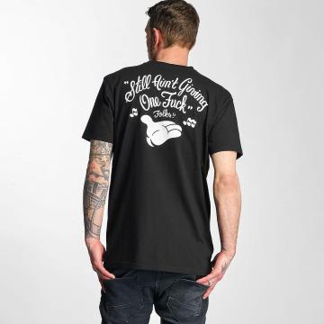 The Dudes T-Shirt Still Aint Giving A Fuck black