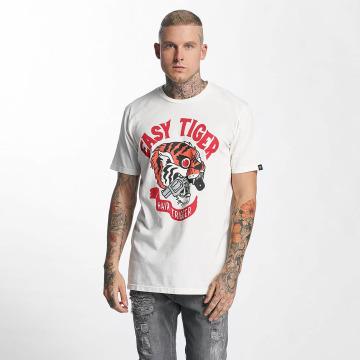 The Dudes T-Shirt Easy Tiger blanc