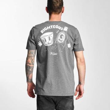 The Dudes T-Shirt Smoking Kills gris