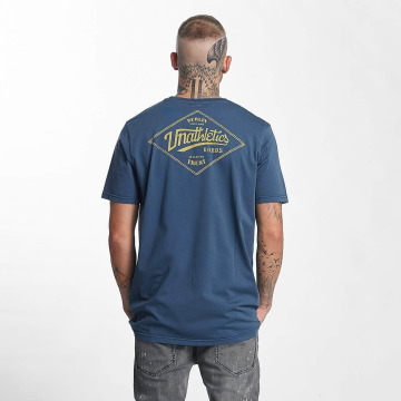 The Dudes T-Shirt Unathletics Stamp indigo
