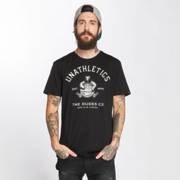The Dudes T-shirt Unathletics Drinking nero