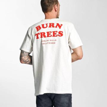 The Dudes T-Shirt Burn Trees weiß