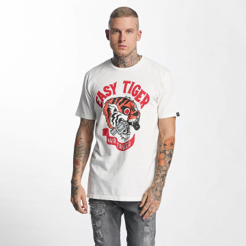The Dudes T-Shirt Easy Tiger weiß