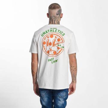 The Dudes T-Shirt Pizza 24/7 weiß
