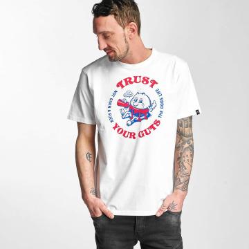 The Dudes T-Shirt Guts white