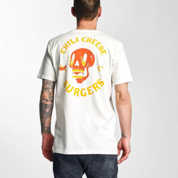The Dudes t-shirt Chili Cheese wit