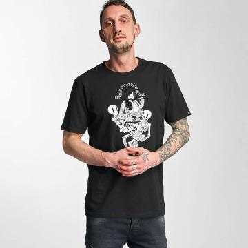 The Dudes t-shirt Boneyard zwart