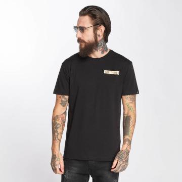 The Dudes t-shirt Bacon Cheese Burgers zwart