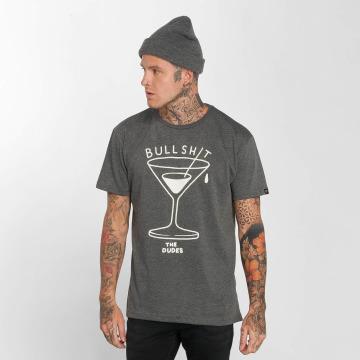 The Dudes T-shirts Bullshit grå
