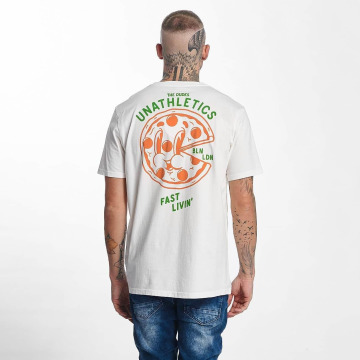 The Dudes T-shirts Pizza 24/7 hvid