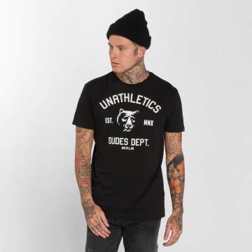 The Dudes T-Shirty Unathletics Smoke czarny