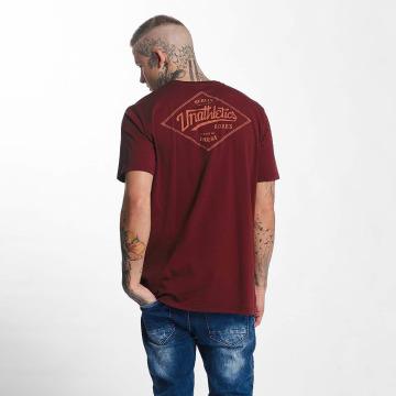 The Dudes T-Shirty Unathletics Stamp czerwony
