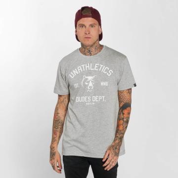 The Dudes T-Shirty Unathletics Smoke szary