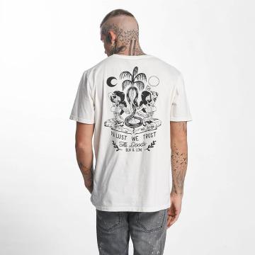 The Dudes T-skjorter Moon hvit