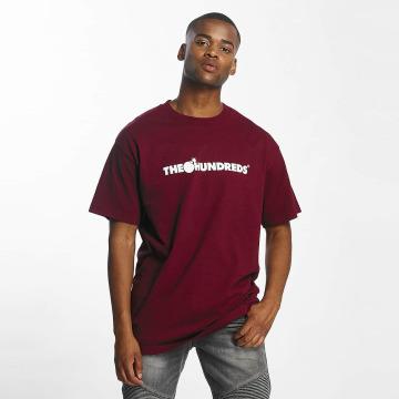 The Hundreds T-shirt Forever Bar Logo rosso