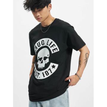 Thug Life Футболка B.Skull черный