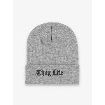 Thug Life Basic Beanie Basic Old Englisch grigio