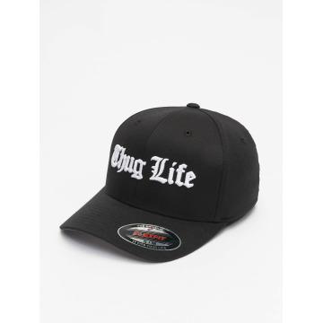 Thug Life Basic Flexfitted Cap Basic Old English nero