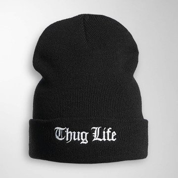 Thug Life Basic Hat-1 Basic Old Englisch black