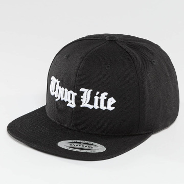 Thug Life Basic Snapback Cap Basic Old English black