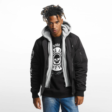 Thug Life Bomberjack 2 in 1 zwart
