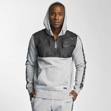 Thug Life Hoodie Combine grå